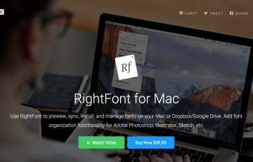 RightFont for Mac