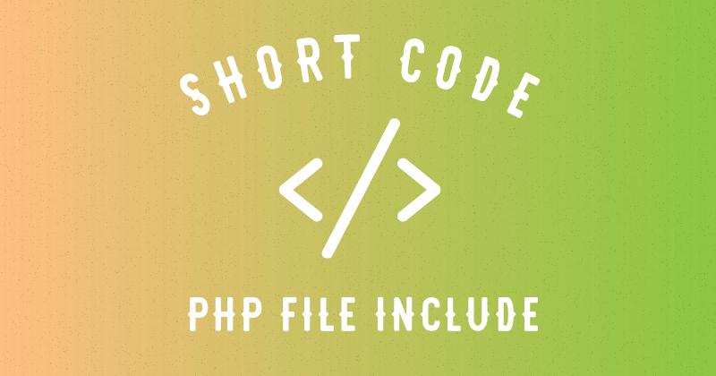 [WordPress]ショートコードでPHPテンプレート(ファイル)を呼び出す | 株式会社bridge